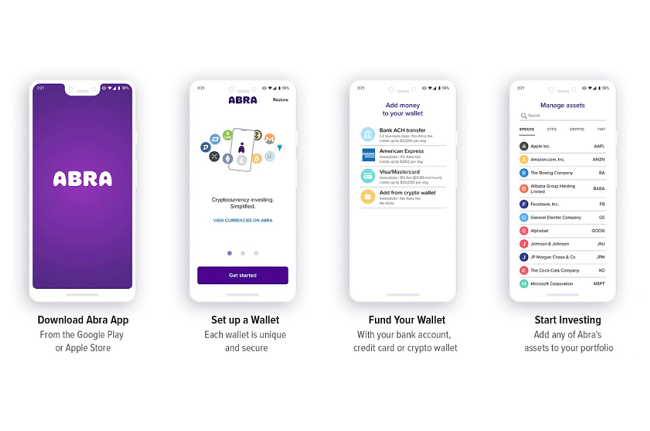 Abra introduces feature to allow fractional investments in