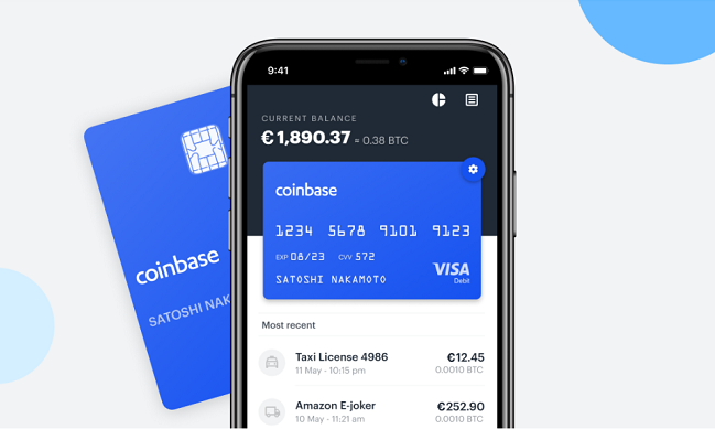 Cryptocurrency debit card europe