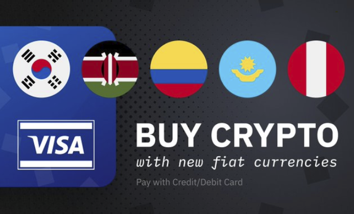 buy cryptocurrency with visa